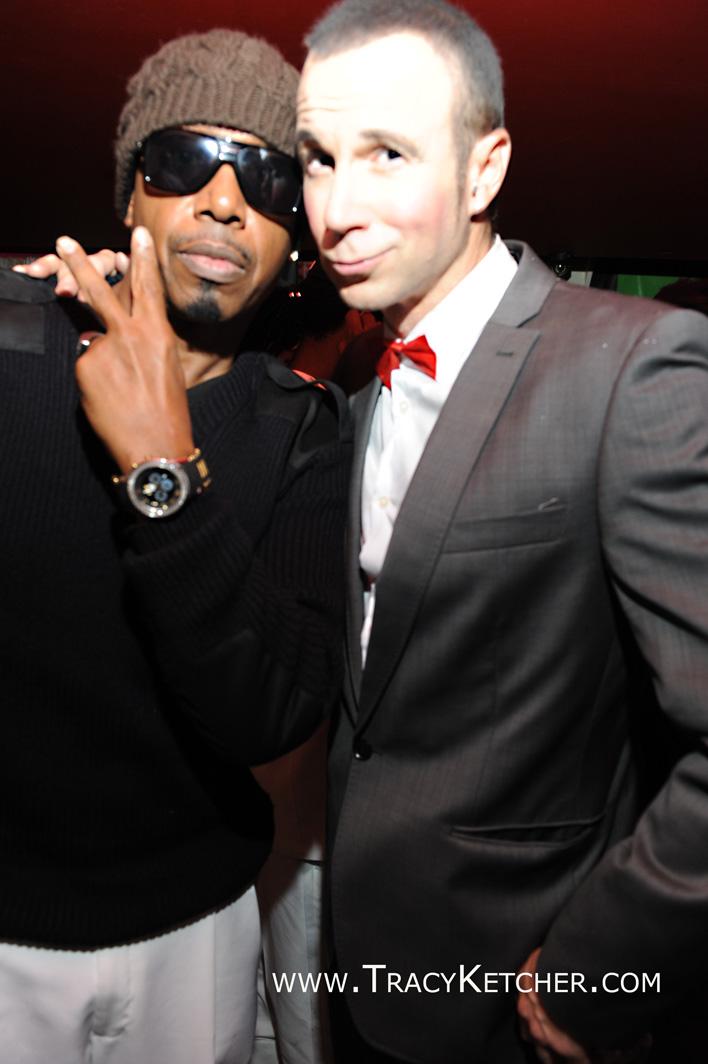 Michael and MC Hammer, Halloween, New York City