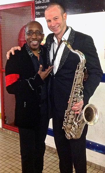 The legendary Greg Phillinganes and Michael on Cirque du Soleil's Michael Jackson The Immortal World Tour, Paris 2013