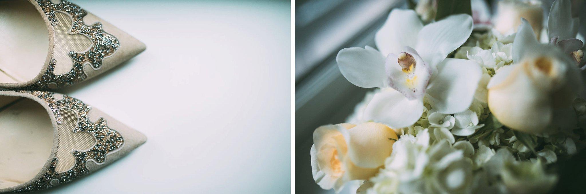 New Year's Eve Feminist Brazilian Wedding Photography Seattle Washington Jimmy Choo's Orchid Bouquet Carly Romeo Photography Richmond VA