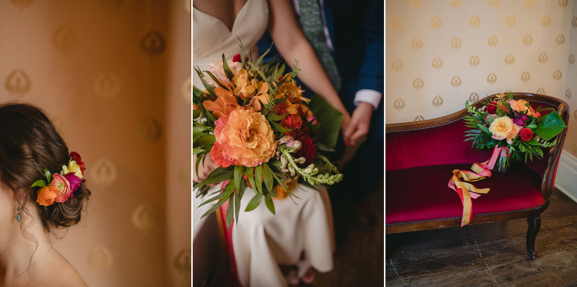 richmond virginia wedding havana 59. Floral details.