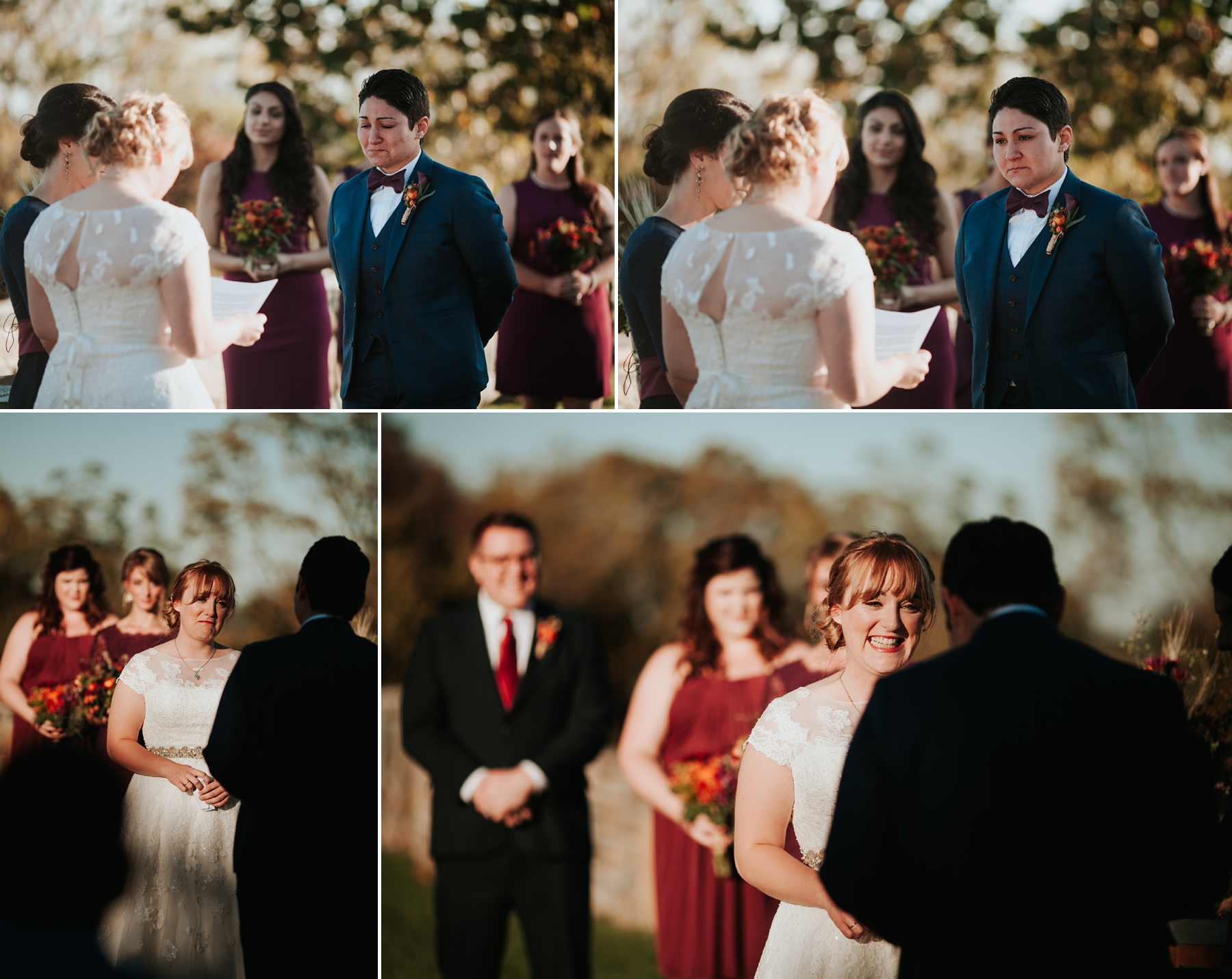 Bluemont Vineyard Wedding, Same-sex wedding, queer wedding in virginia