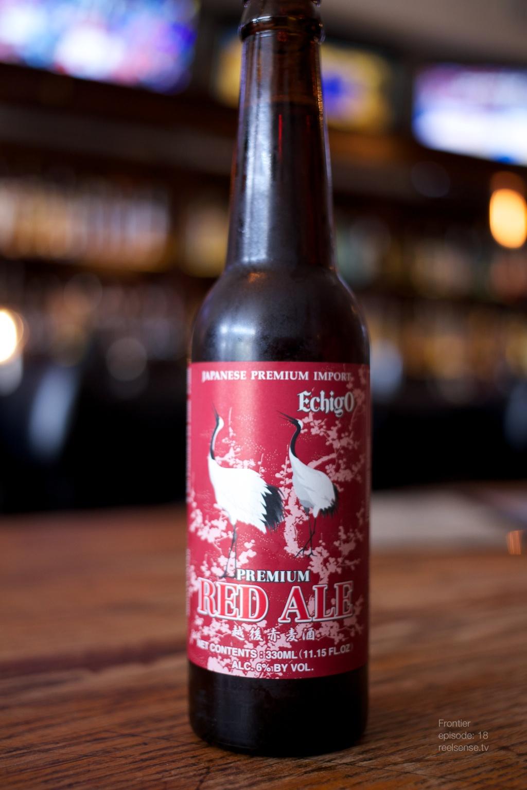 Little Tokyo - Far bar - Echigo Red Ale Beer