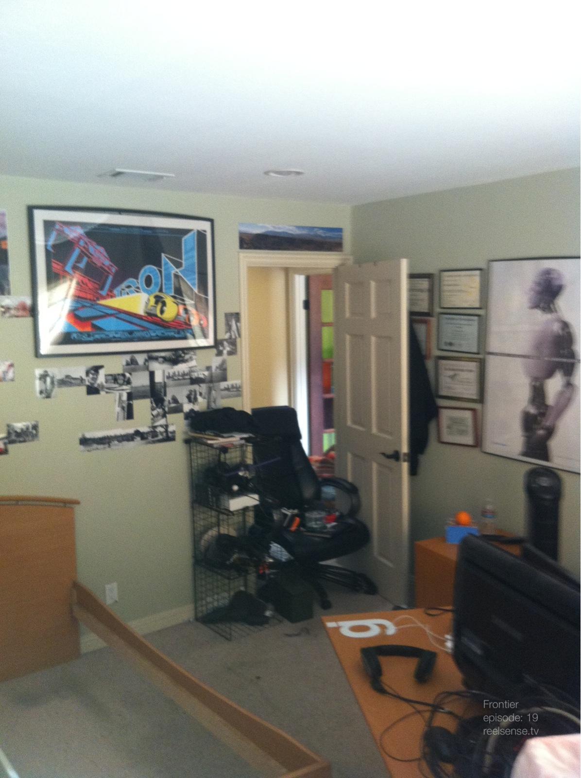 Richards room before photoshop