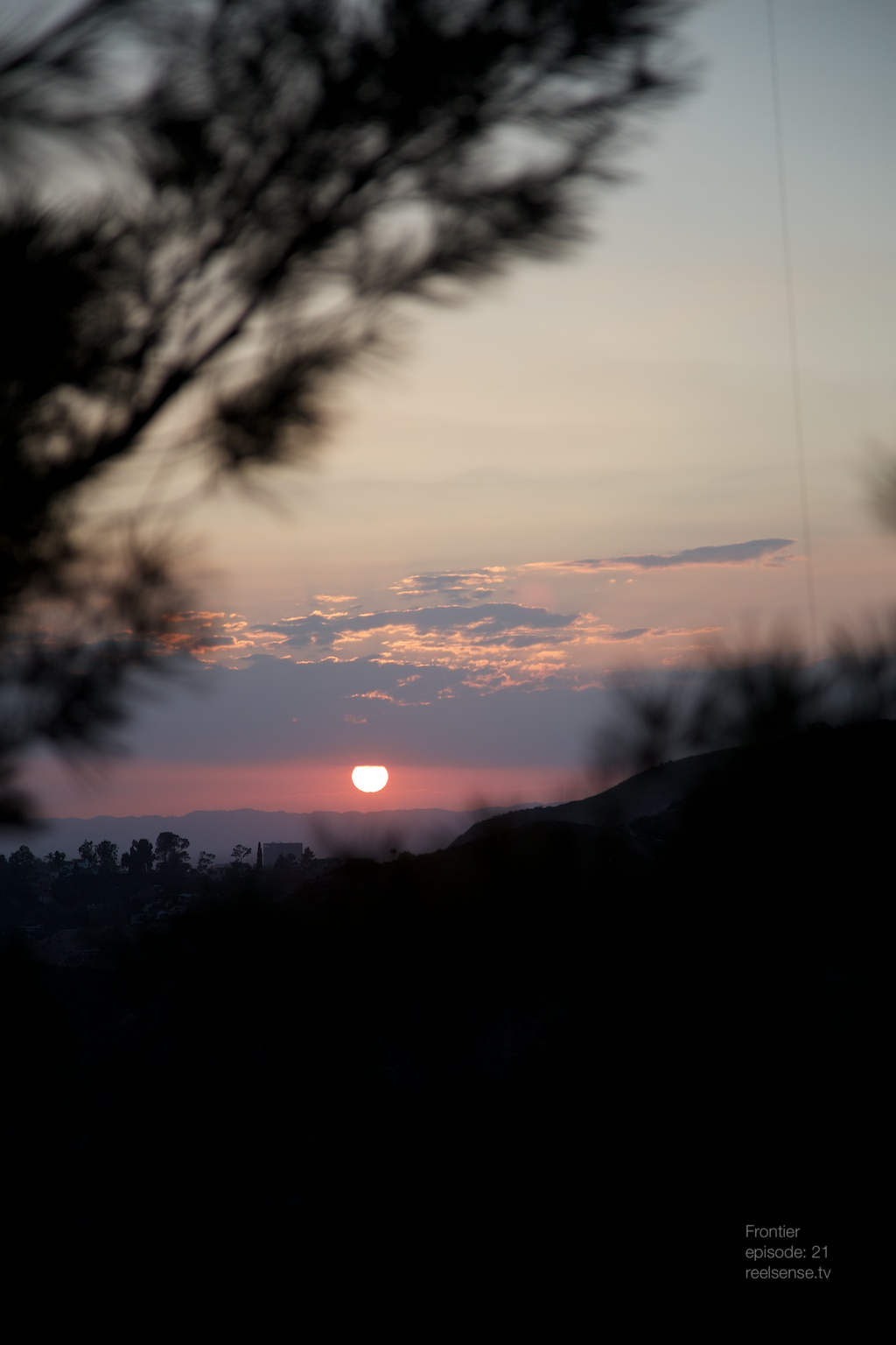 Griffith Observatory - Los Angeles - Sunset over LA