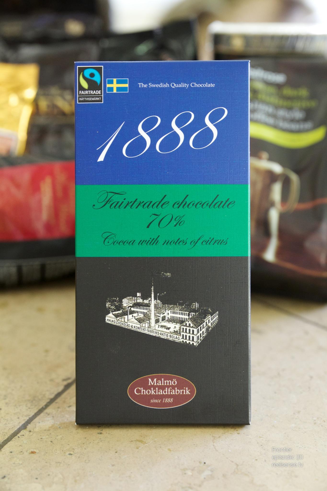 Malmö Chokladfabrik - 1888 70% Cocoa - Sweden