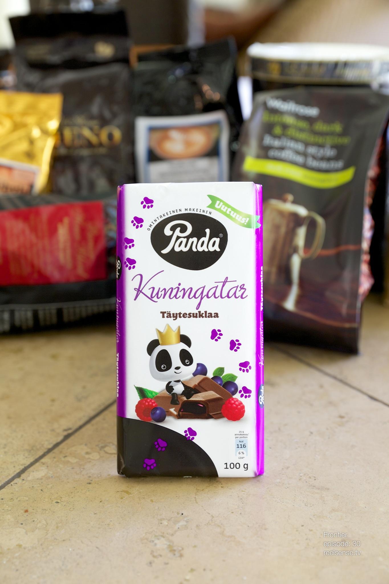 Panda - Kuningatar täytesuklaa - Finland