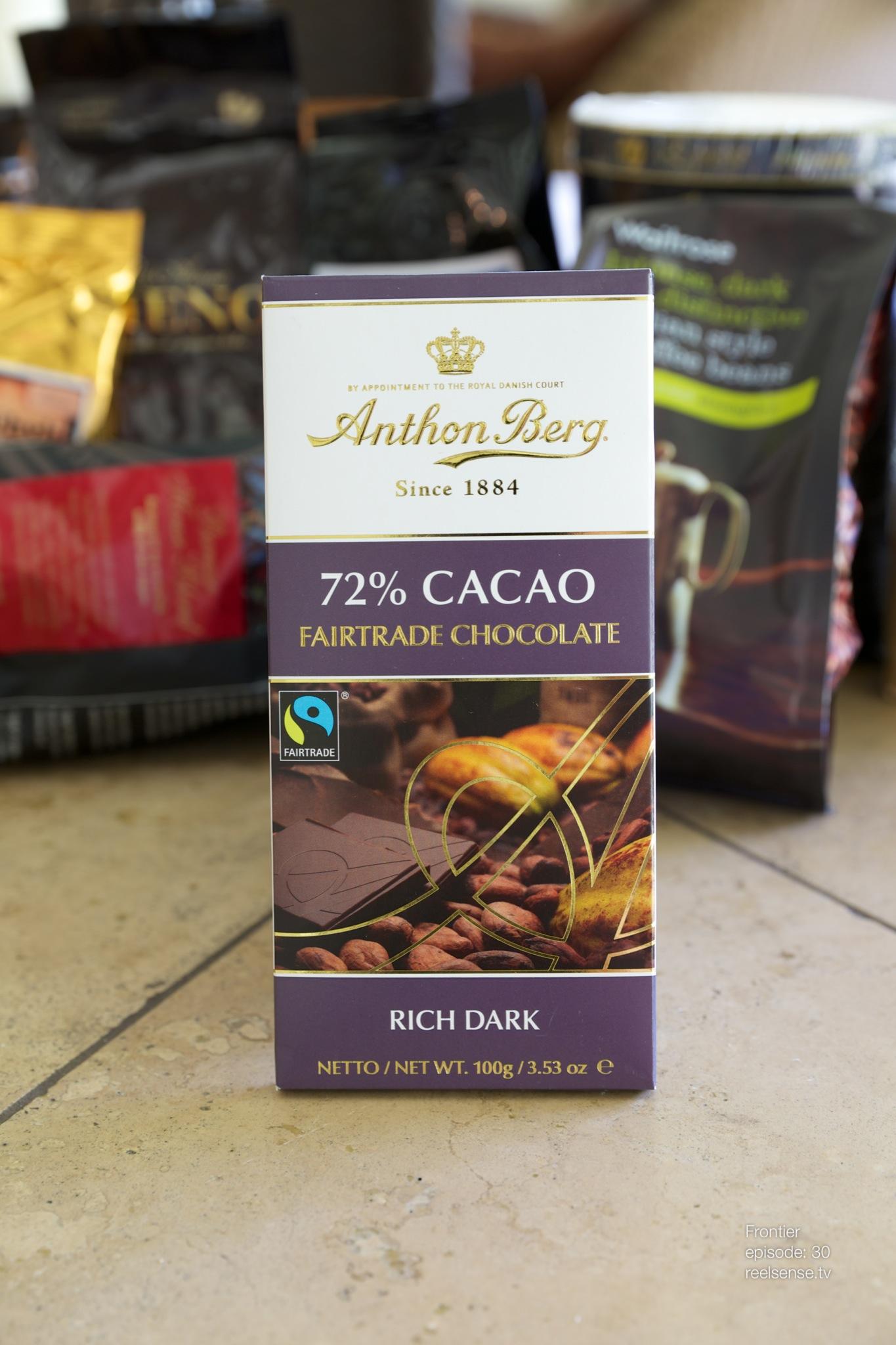 Anthon Berg - Rich Dark 70% Cacao - Denmark