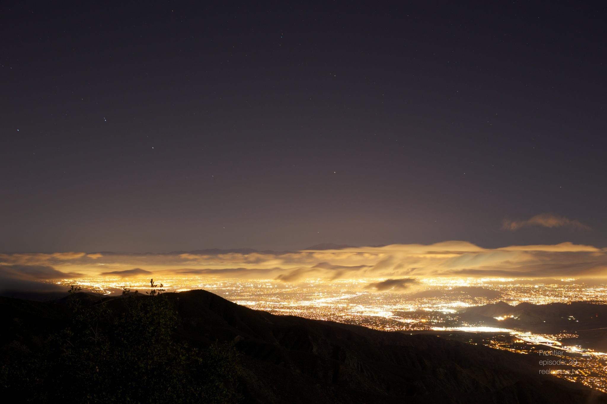 Lake Elsinore, CA - City Glow