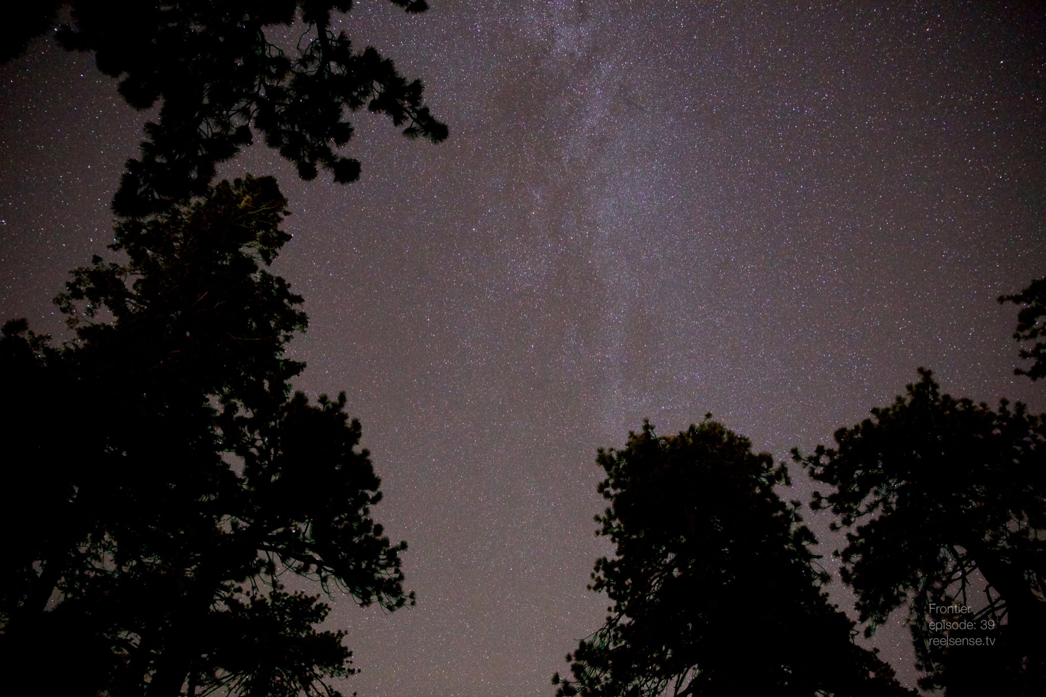 Big Bear, CA - The view of the Milky Way from a hammock