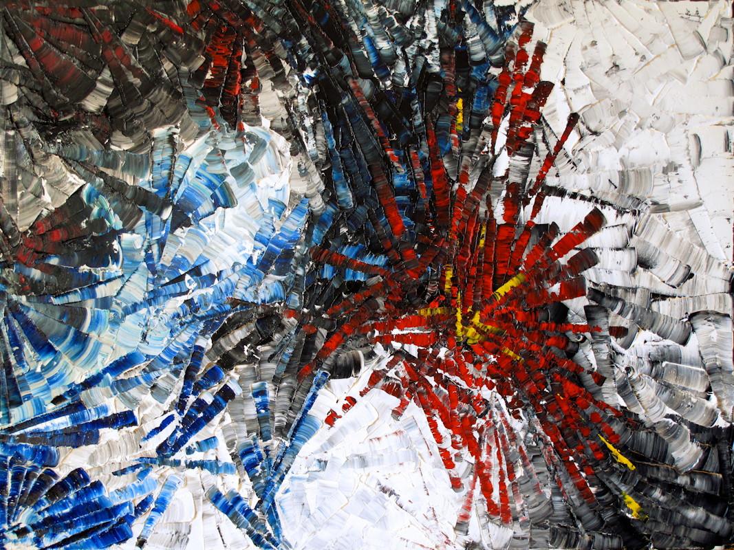 OURSINS  2013  L  ouis-Bernard St-Jean  Huile sur toile / Oil on canvas  76 x 102 cm / 30 x 40 po