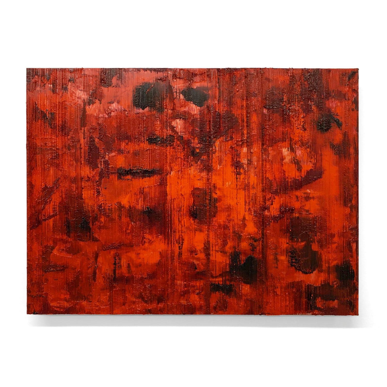 """Summer Blaze  - Oil on aluminum panel, 12"""" x 16"""""""
