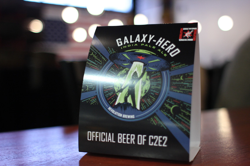 The official beer of C2E2