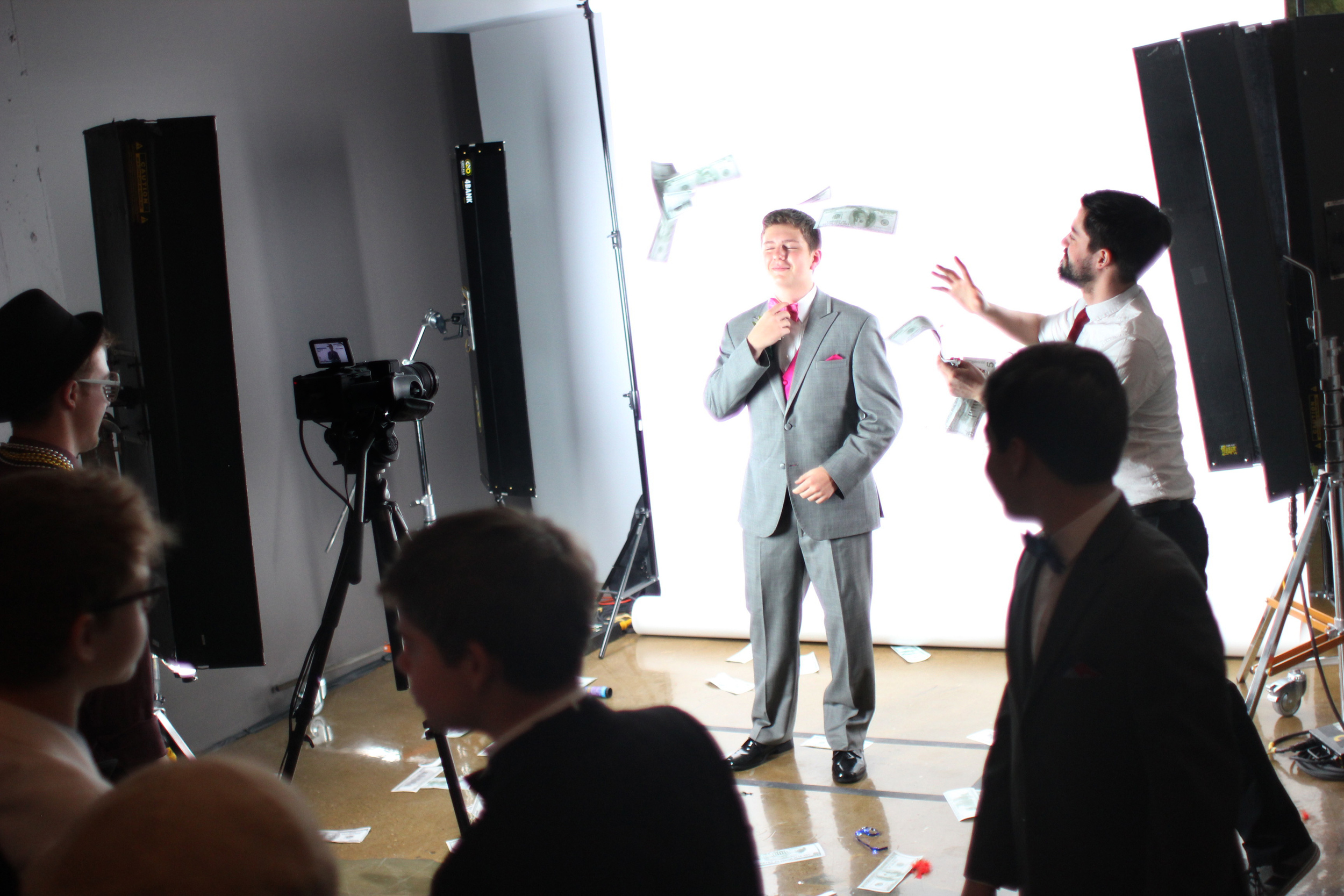 Ryan having fun in the Slow Mo Booth at Venue One! Slow Mo booth by  Ben Mahoney Productions .