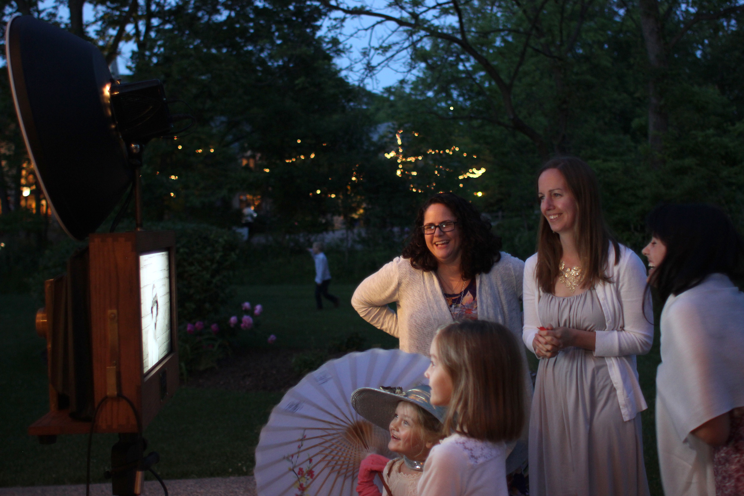 Everyone loves watching the Fotio slideshow during the wedding reception!