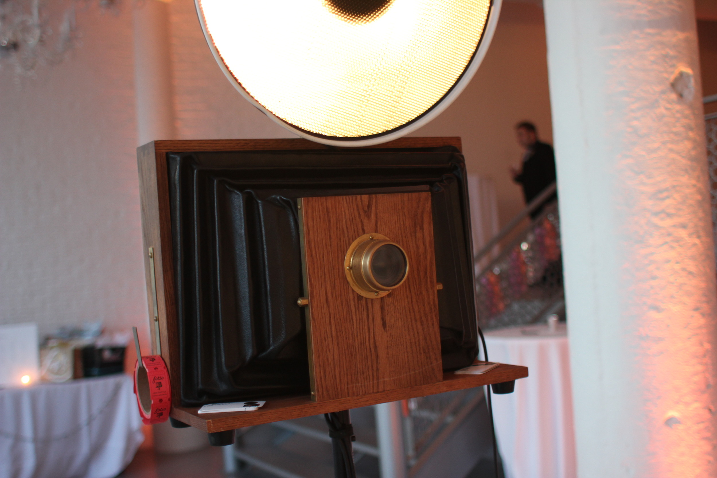 Room 1520 photo booth at Chicago Loft Wedding.