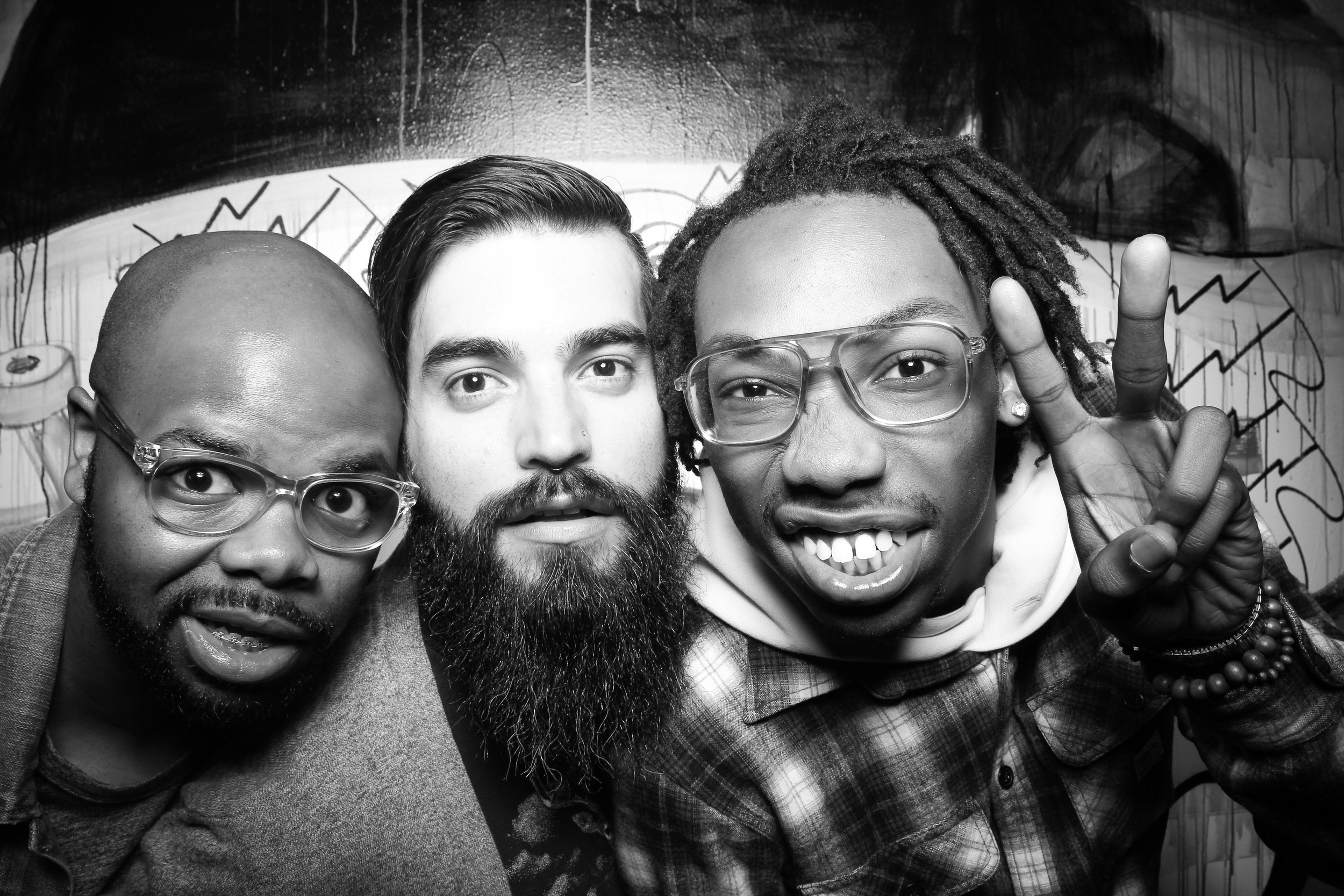 Having a blast with Fotio Photo Booth at Locallective in Wicker Park on Milwaukee Ave!
