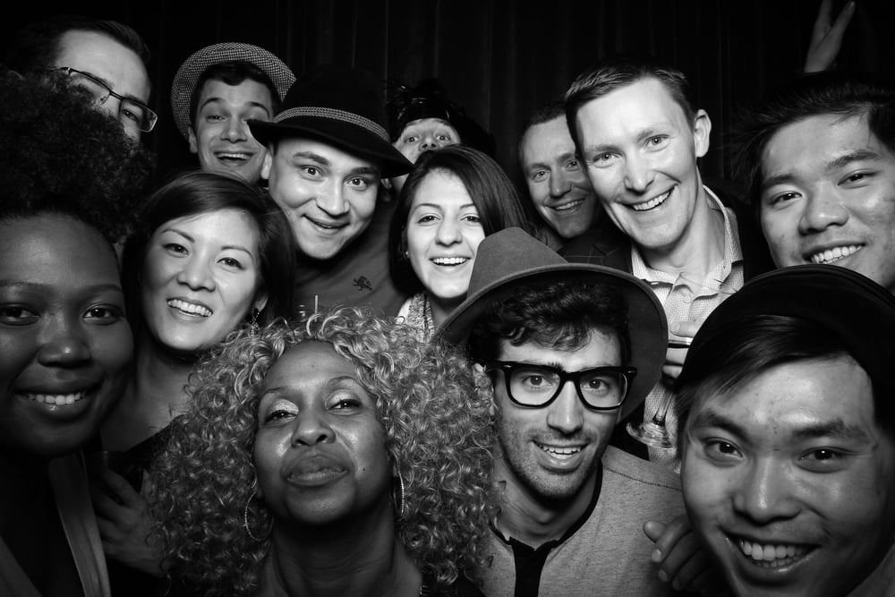 So many happy faces! Fotio Photo Booth is the best photo experience in Chicago!