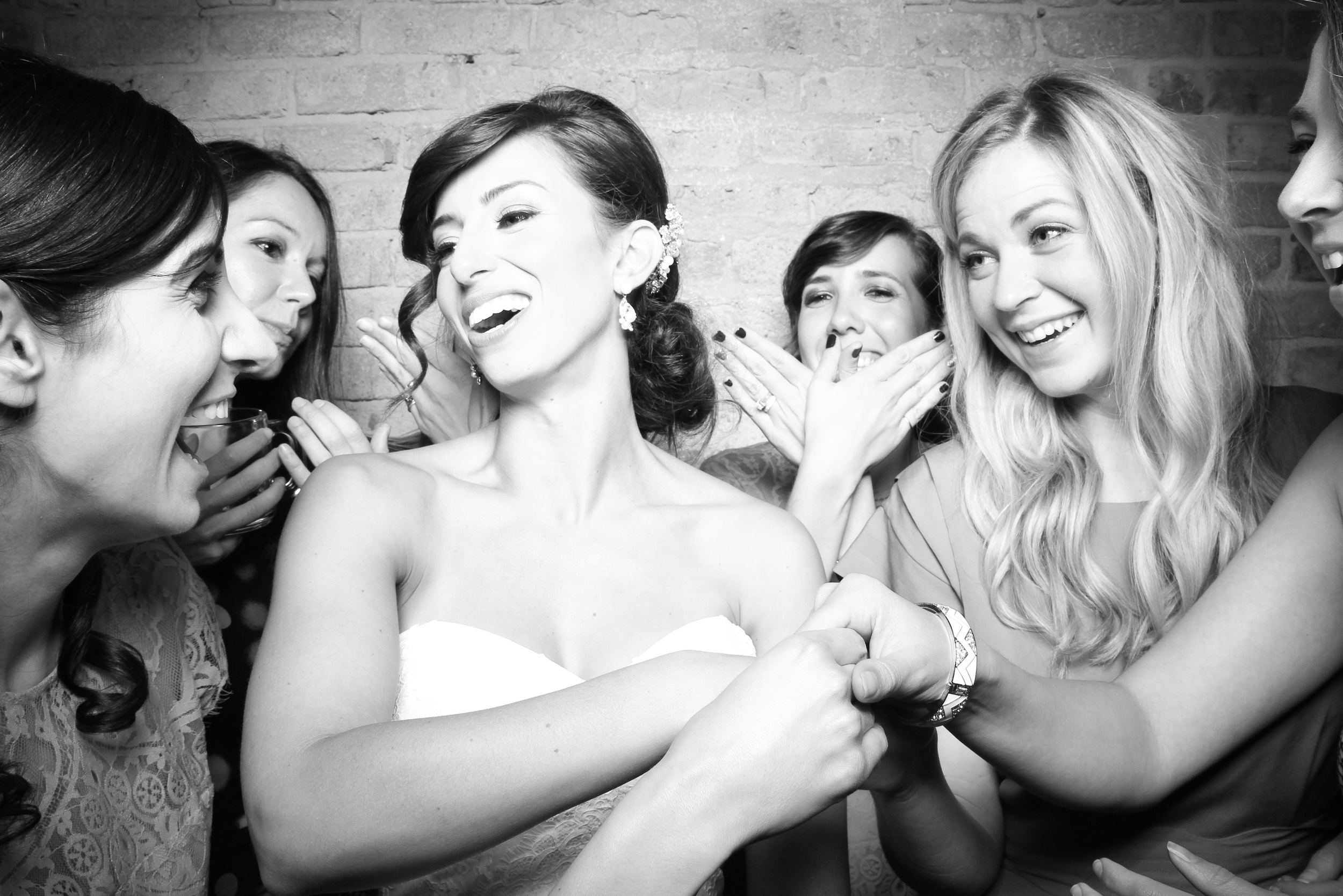 The bride and her girls at City Winery. We love the candid moments you get with Fotio!