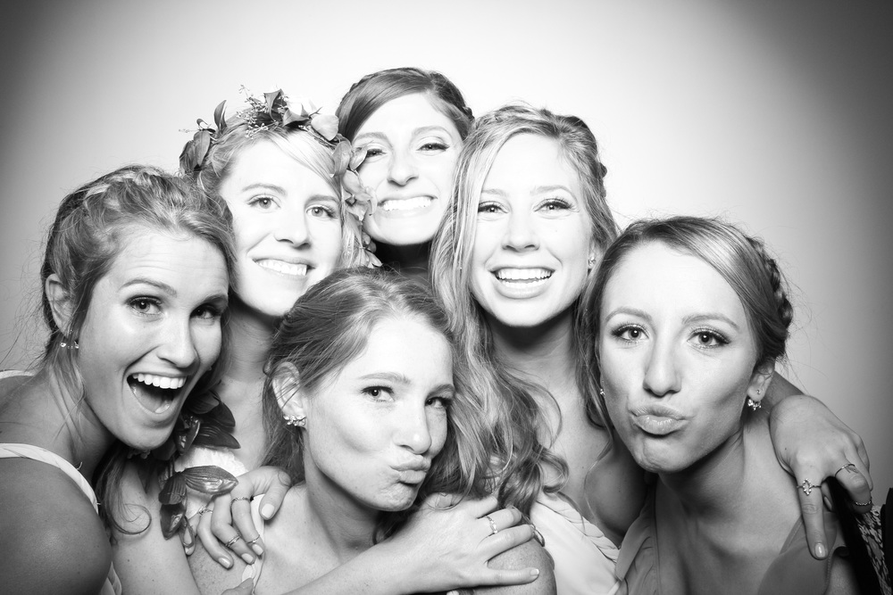 The bride and bridesmaids!