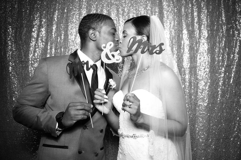 Bride and Groom looking super sweet!