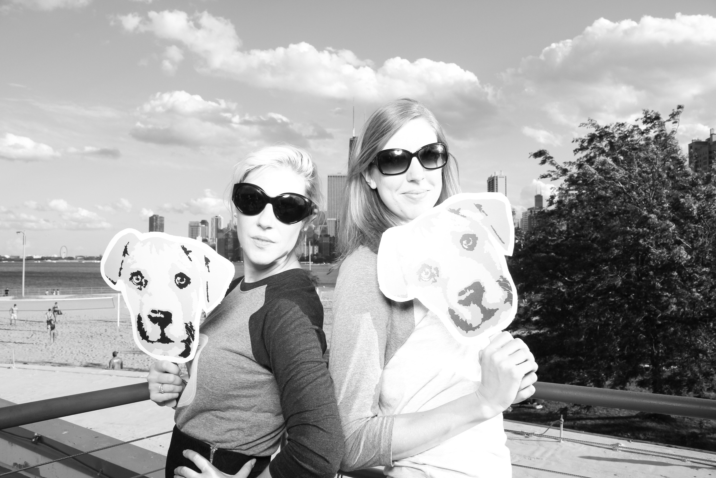 Lovely ladies supporting Paws!