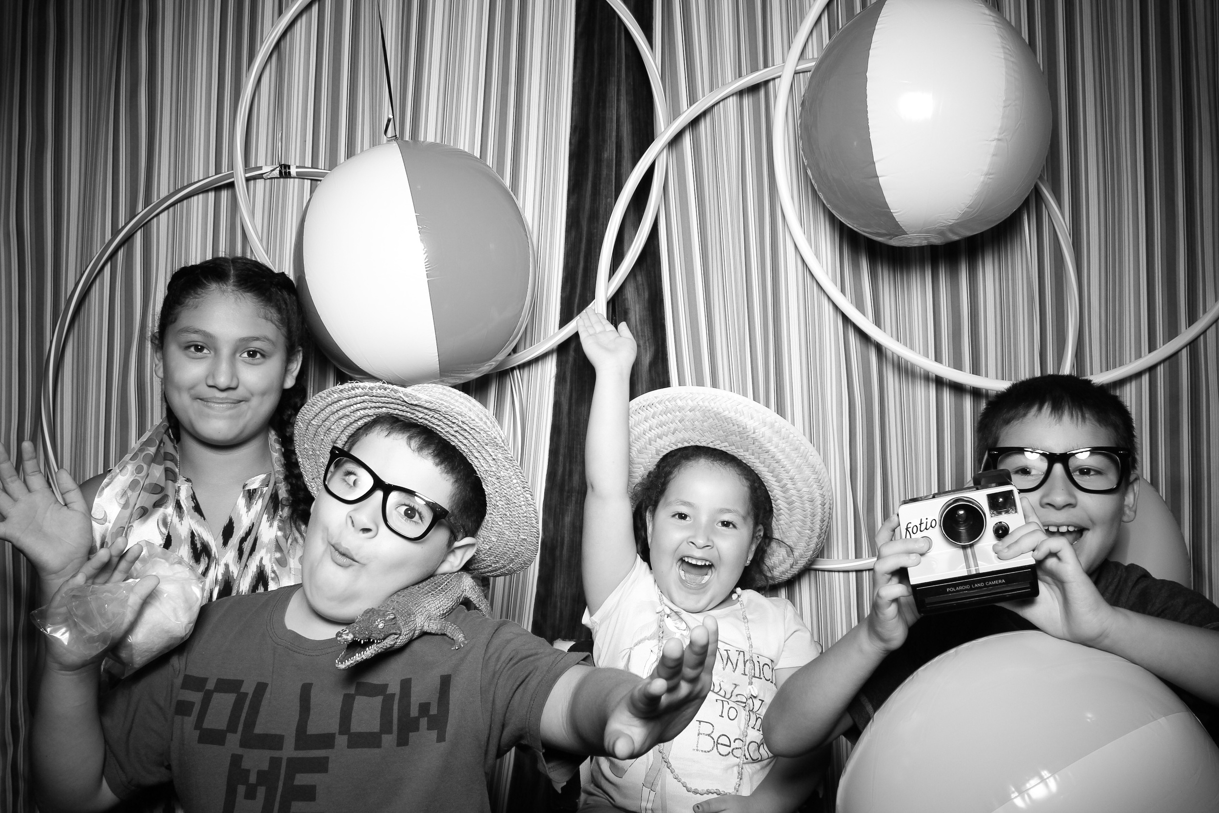 These kids were having a blast with our Fotio props!