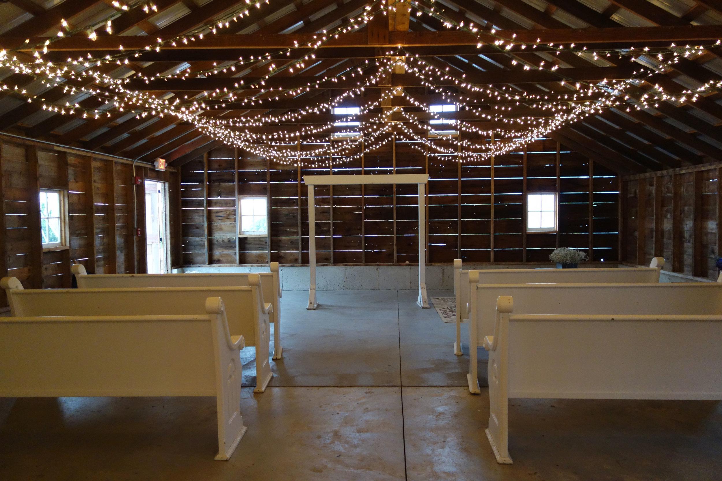 Quaint little barn!