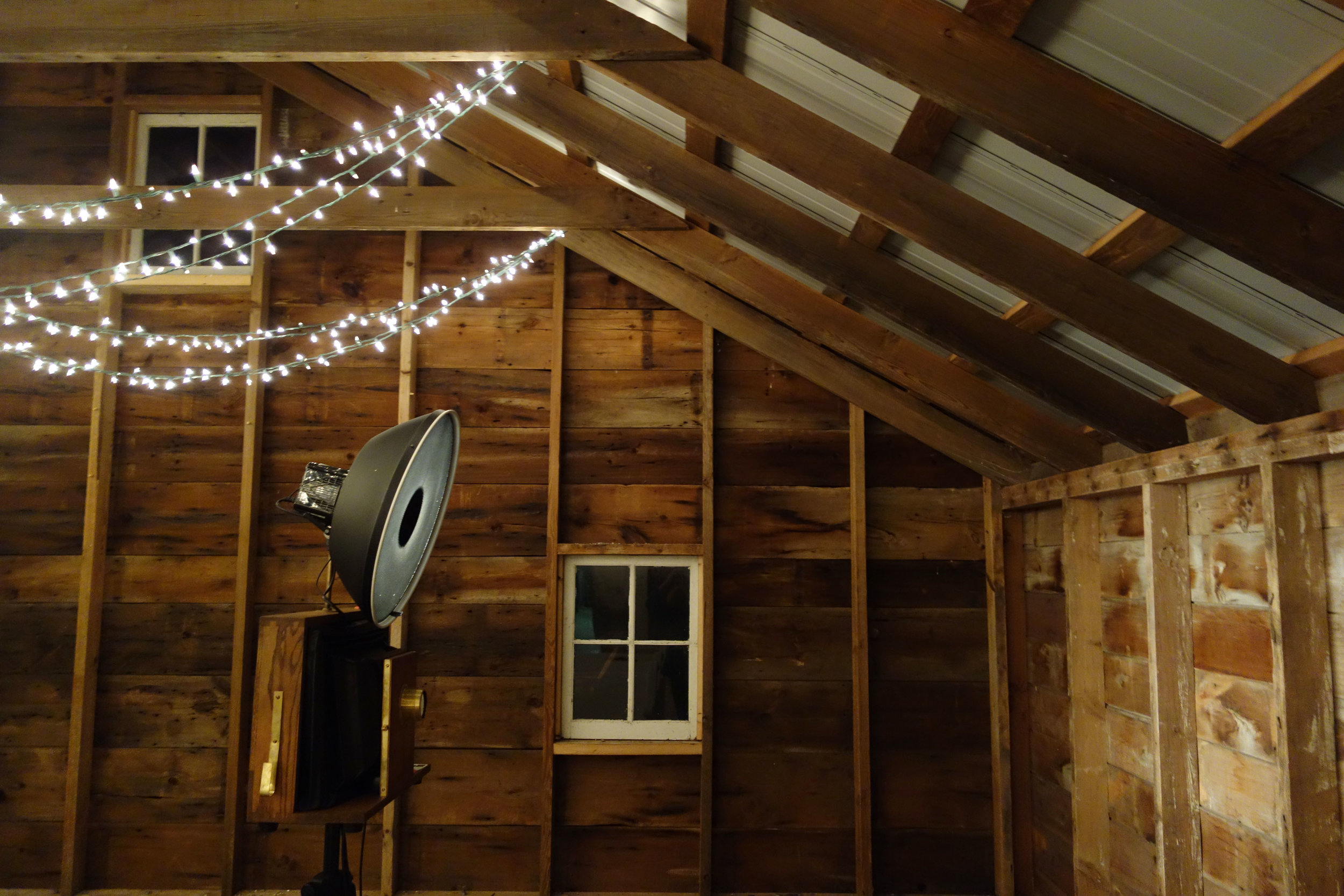 Fotio in the barn!