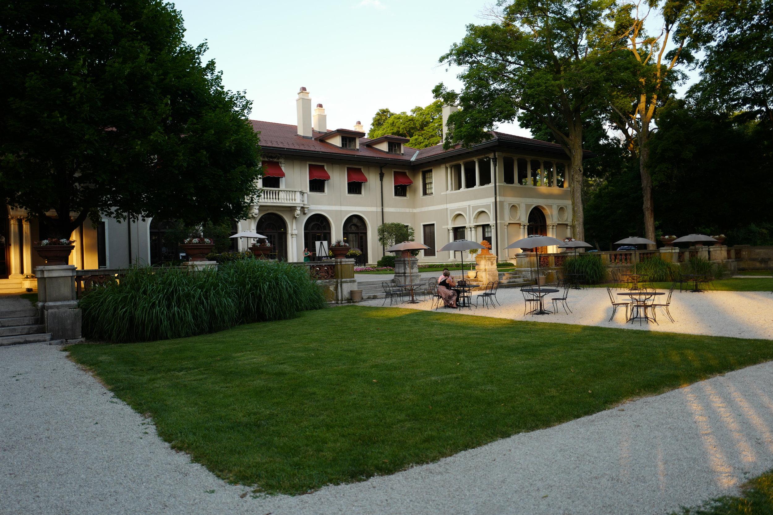 Backyard of the Armour House