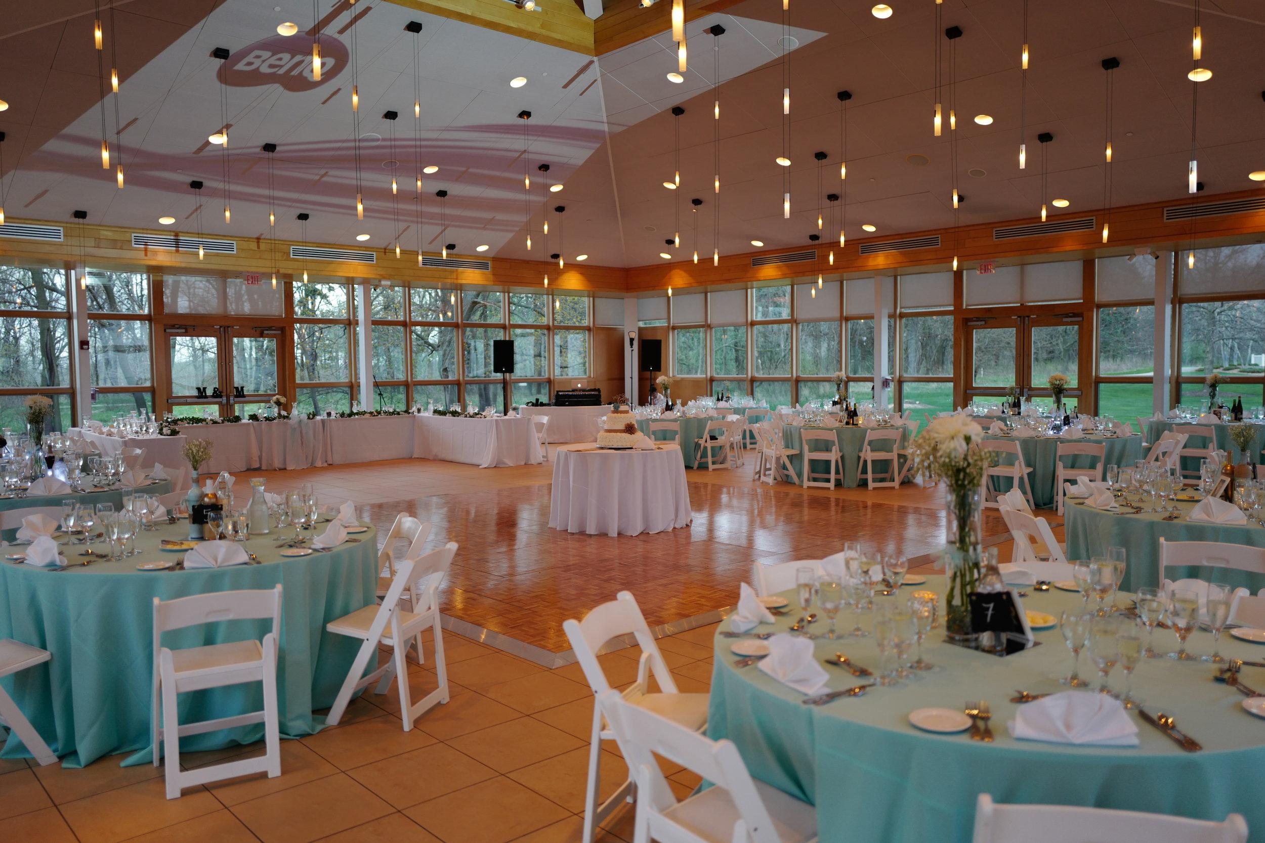 "The Atrium ""Reception"" space at the Danada House"