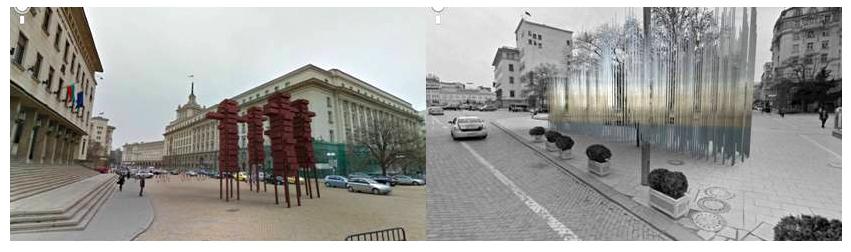 Паметници на Бюрокрацията и Гражданското общество, идеяР.Мъглов