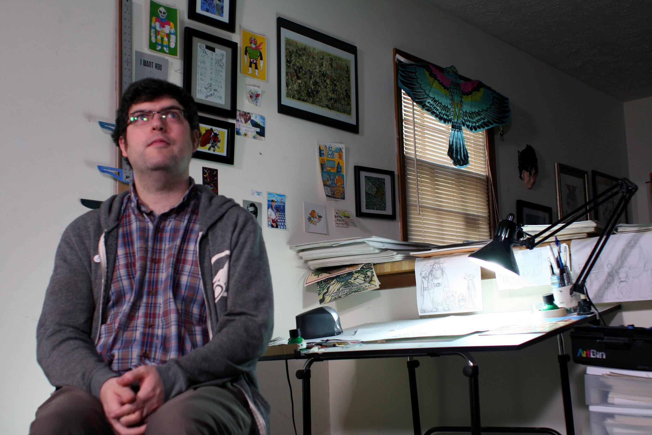Interviewee, Cartoonist: Joey Weiser