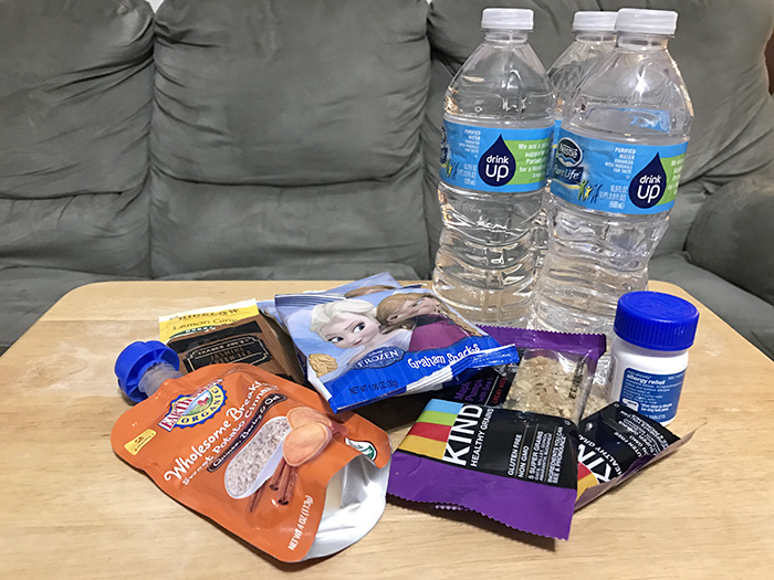 Provisions for the 2-day filming session in Atlanta, GA