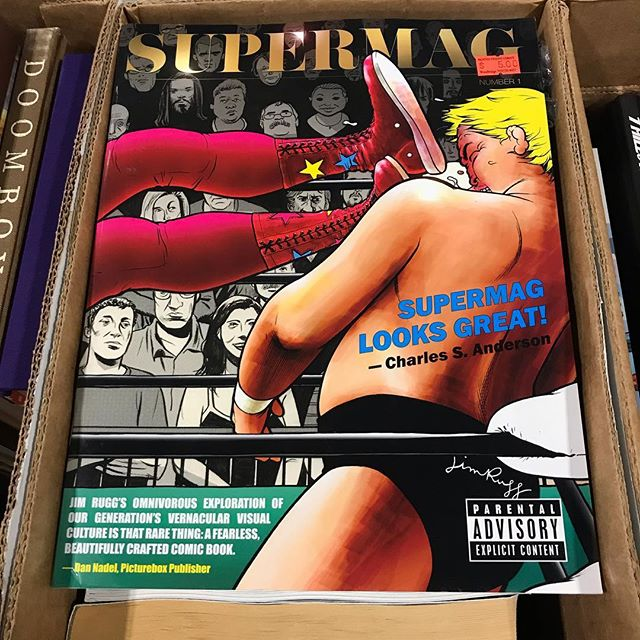 Anyone need a copy of @jimruggart Supermag?