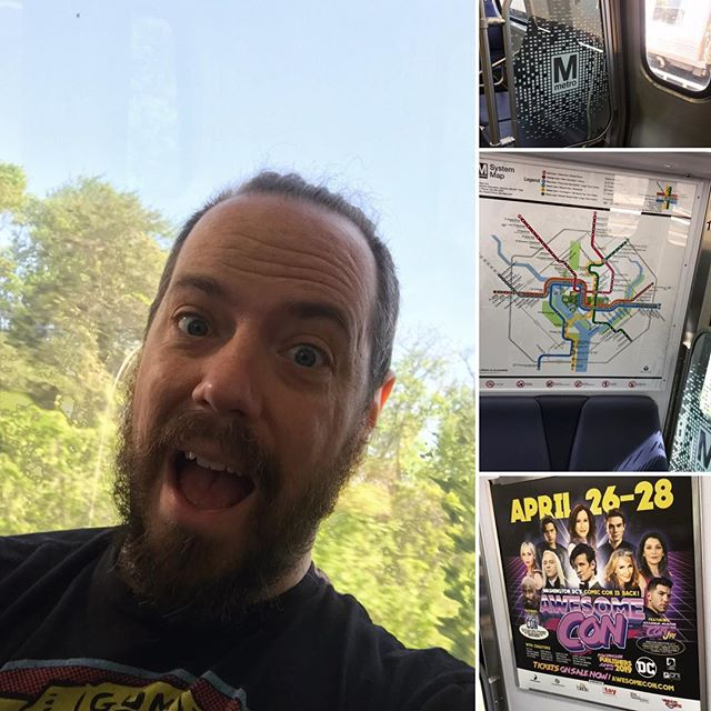Heading out to the second day of #awesomecon for the film festival to represent @electricsoulfilms Forest Adventure. . . . #electricsoulfilms #awesomecondc #awesomecon2019 #filmfestival #dcmetro