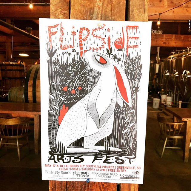 We'll be at @flipside.art with a bunch of great artists May 17-18 at @bfsbeer - come visit us. . . . #zinefest #artsfest #dollarbin #greenvillezine #greenvilleart
