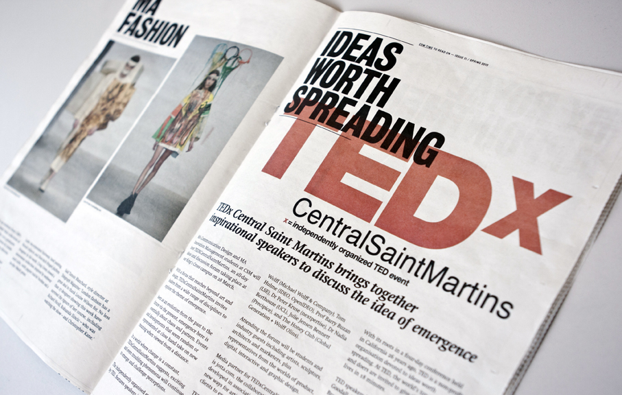 Feature in the CSM Times