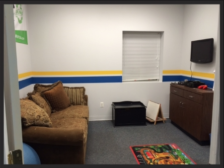 FOR NO EXTRA CHARGE...OUR KID'S ROOM IS EQUIPPED WITH TOYS, A GIANT CHALK BOARD, XBOX, NINTENDO 64, AND DVD PLAYER. IT'S VISIBLE TO THE WORK-OUT AREA, AND IS GATED FOR SAFETY!