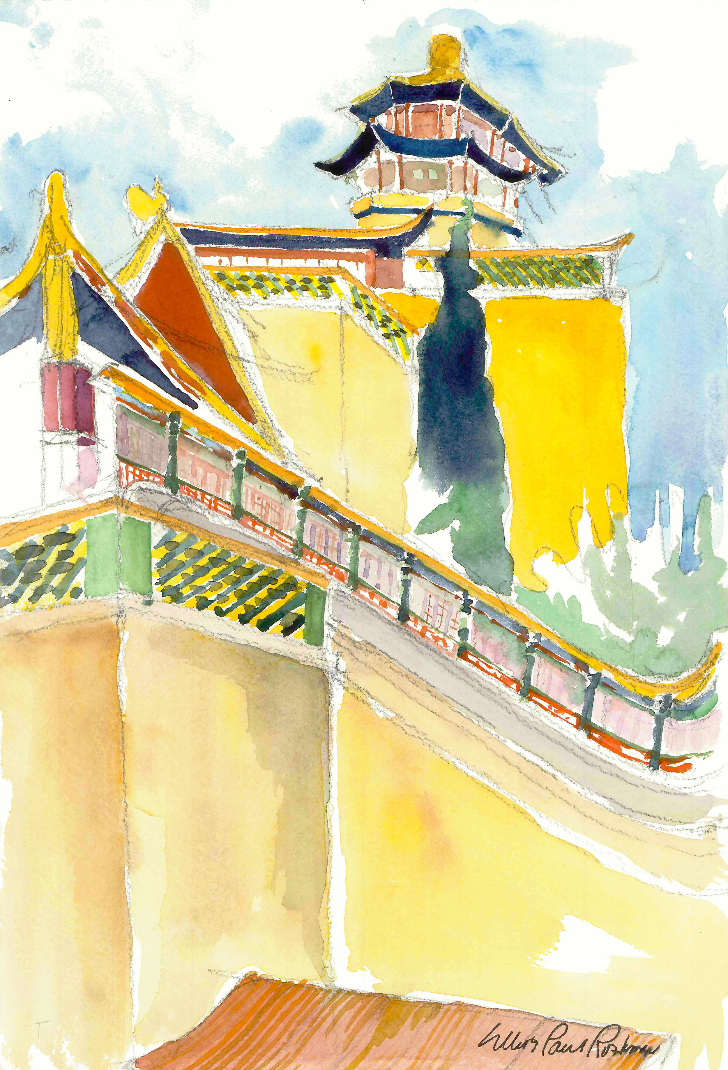 Temple of the Buddhist Incense Summer Palace Beijing China