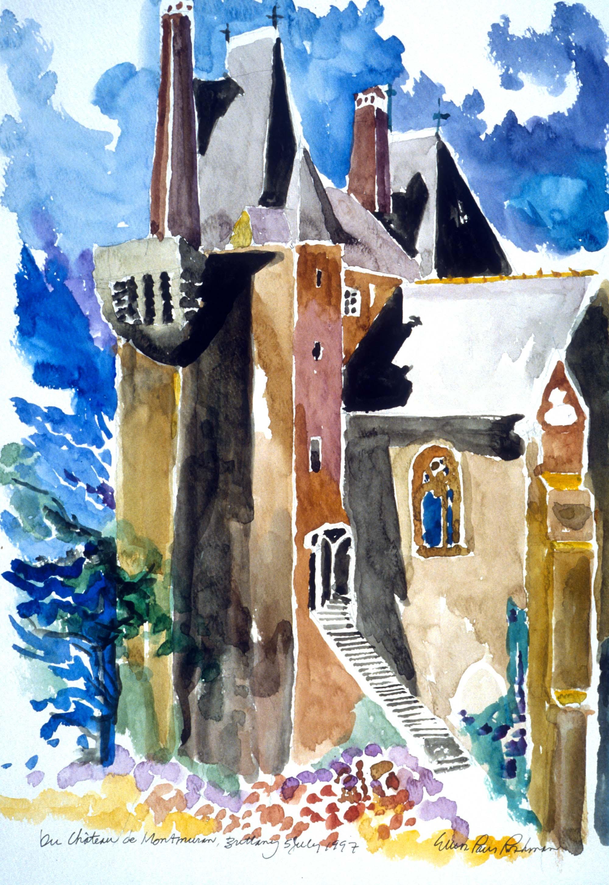 Le Chateau de Montmuran Brittany