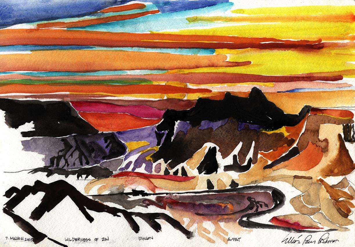 Wilderness of Zin Sunrise