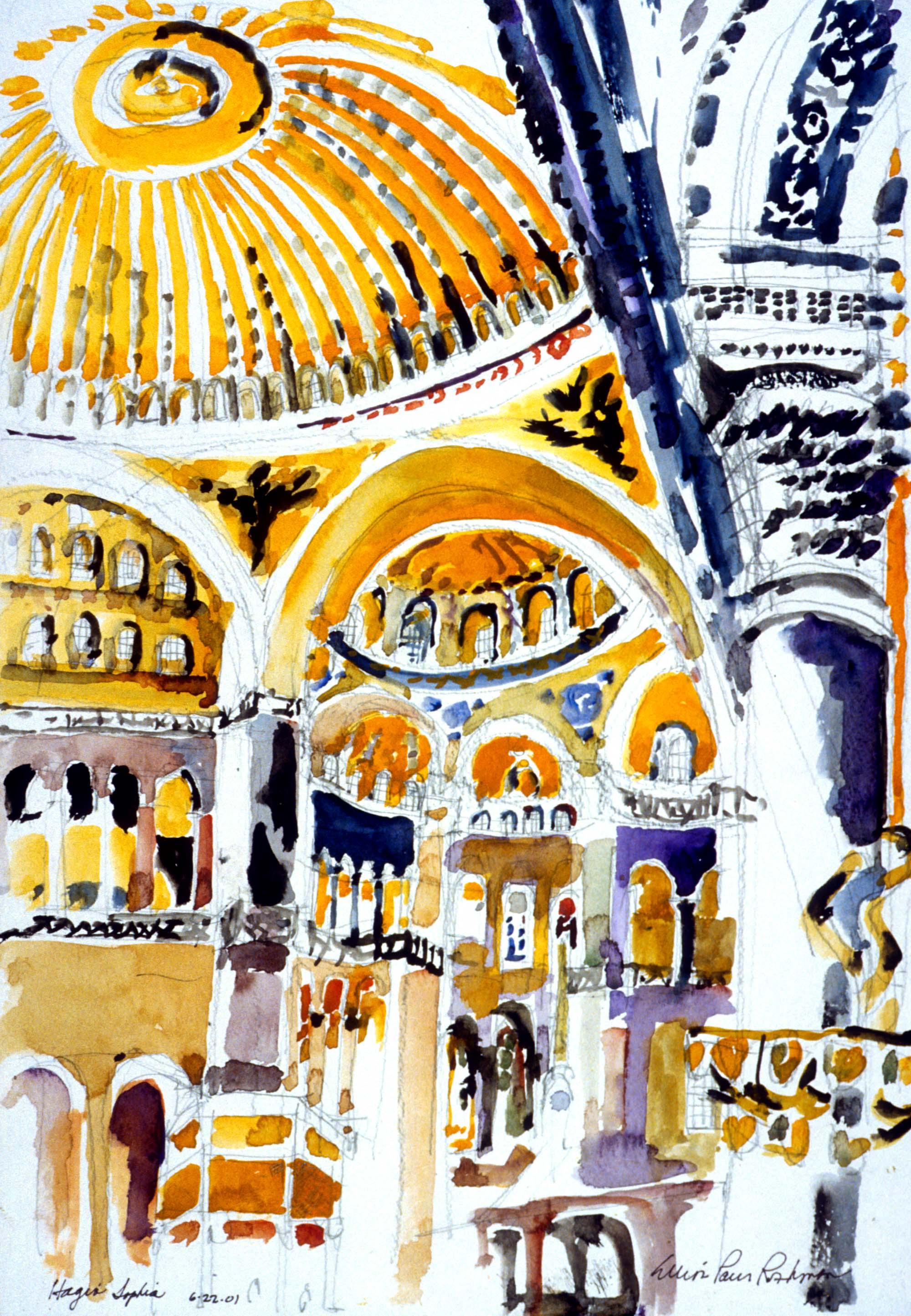 Hagia Sophia Interior, Istanbul