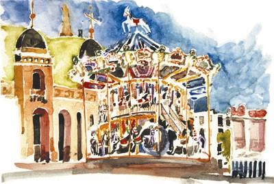 Carousel, San Sebastian