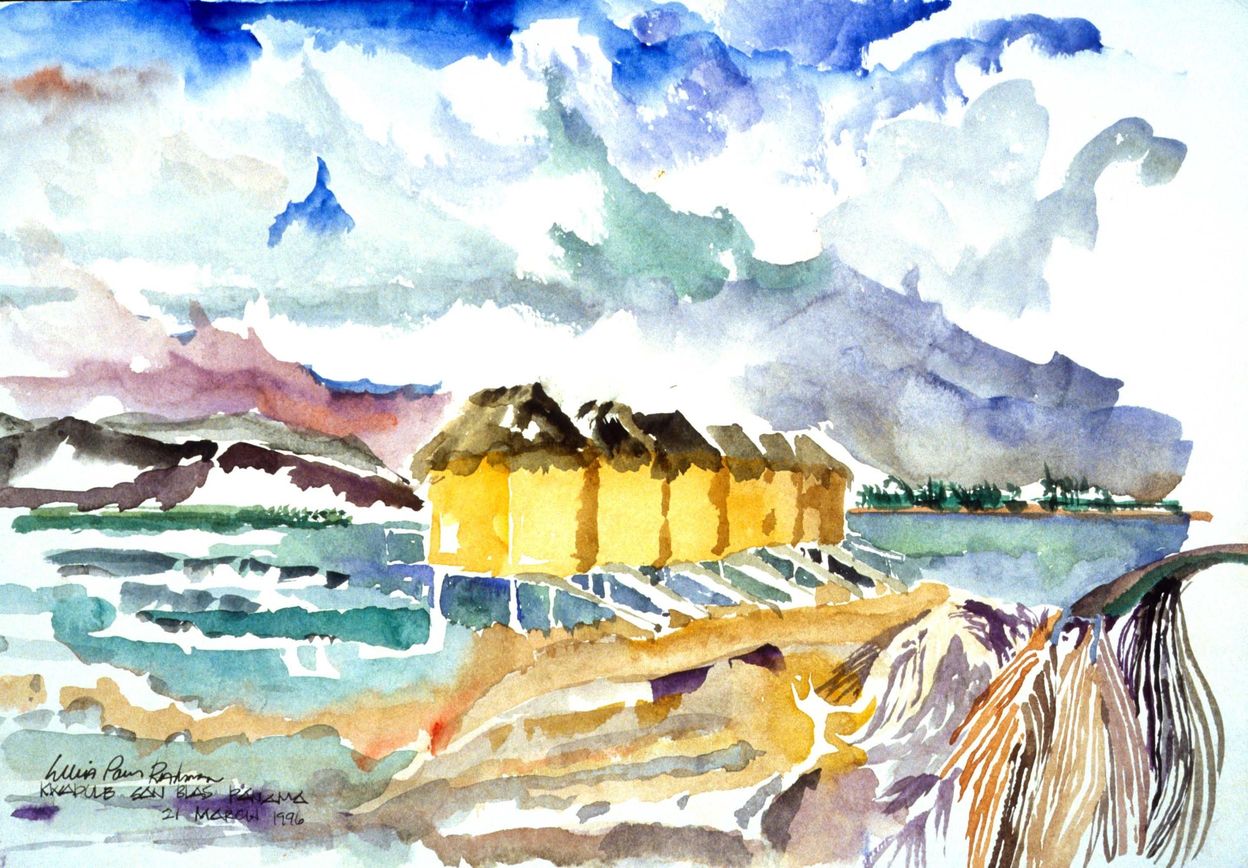 Kwadule San Blas Islands Cabins_032196.jpg