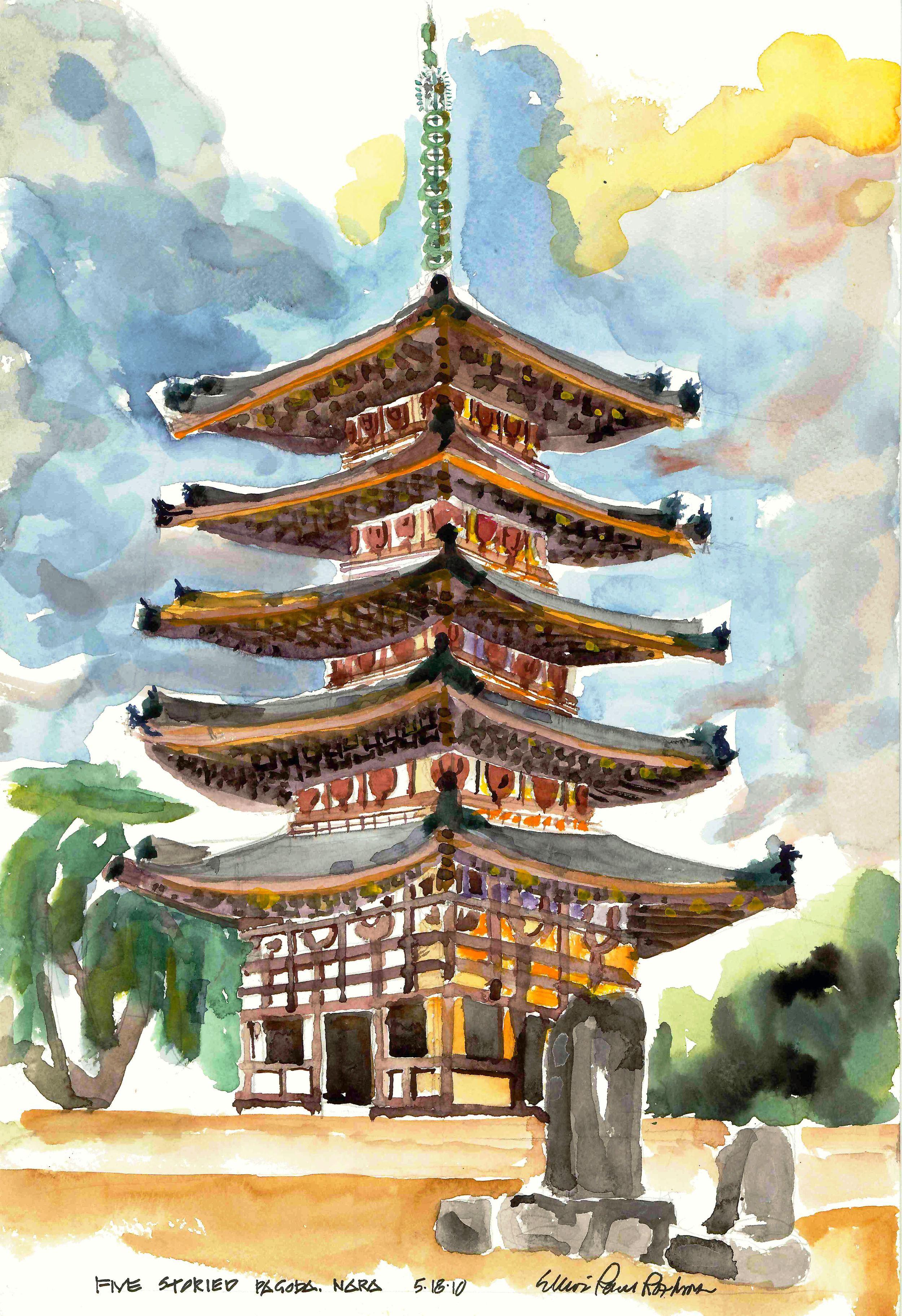 Five Storied Pagoda Nara