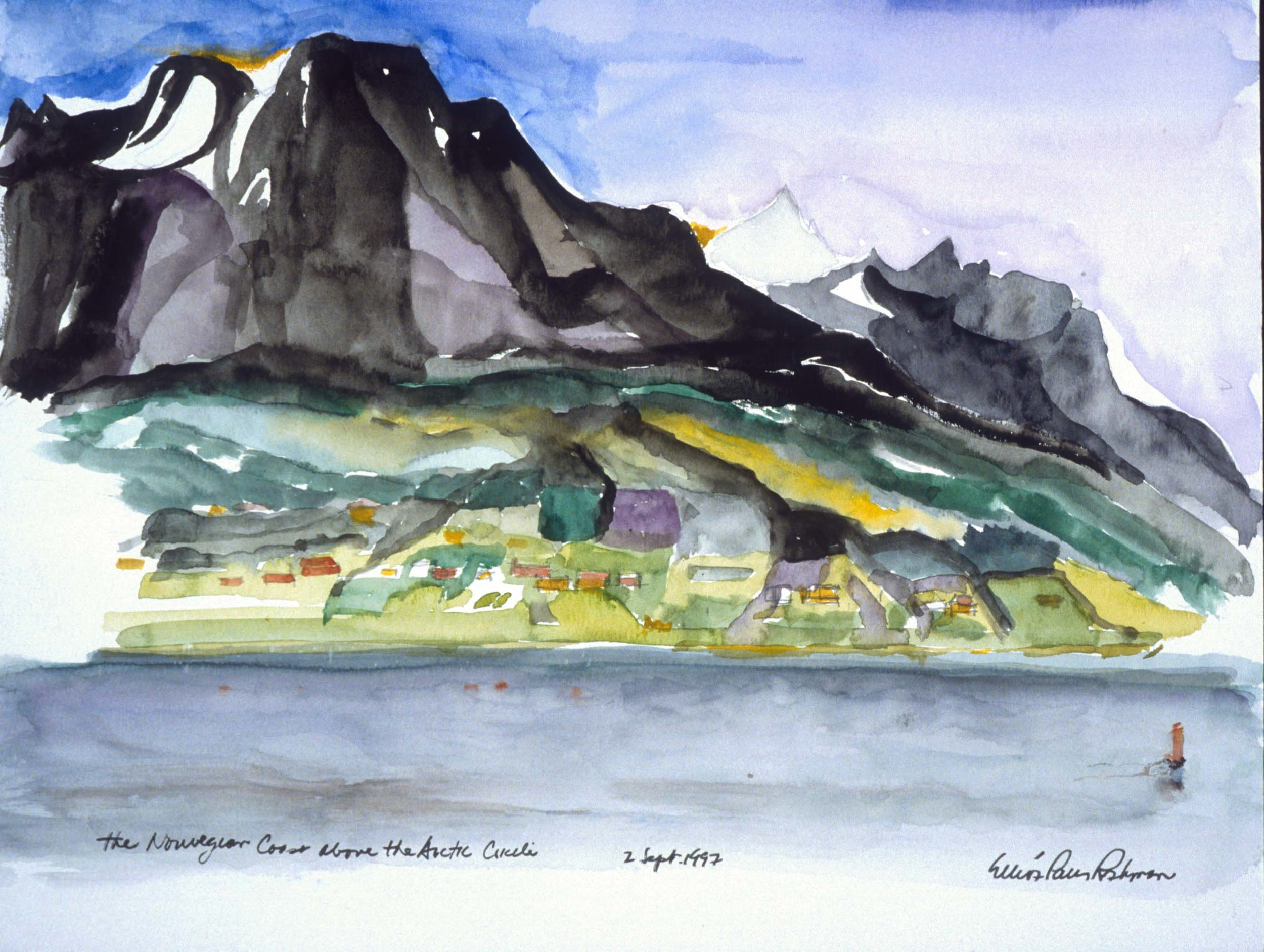 The Norwegian Coast above the Arctic Circle