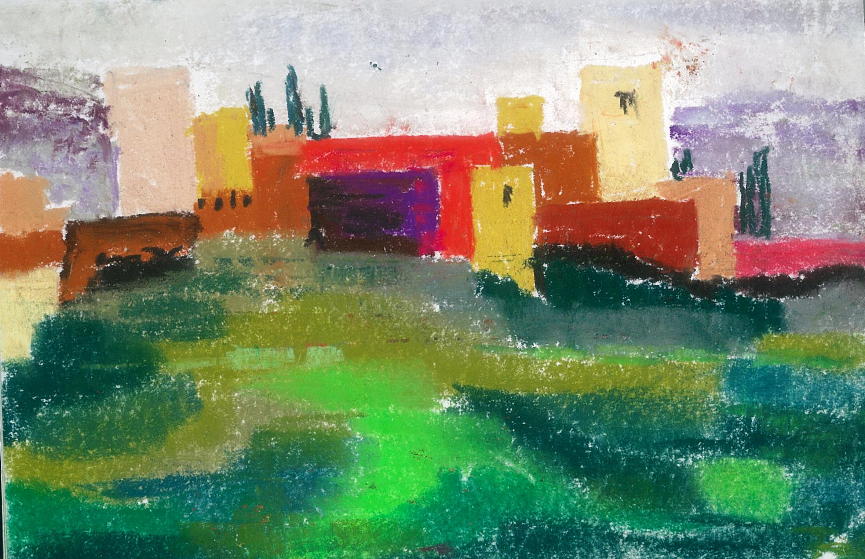 Alhambra from Plaza San Nicholas Granada MLR_032610.jpg