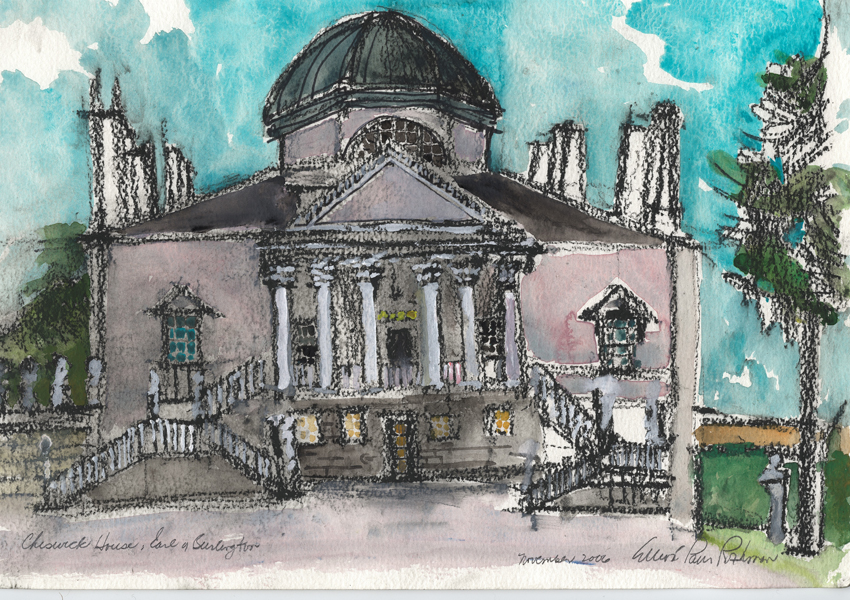 Chiswick House Elevation
