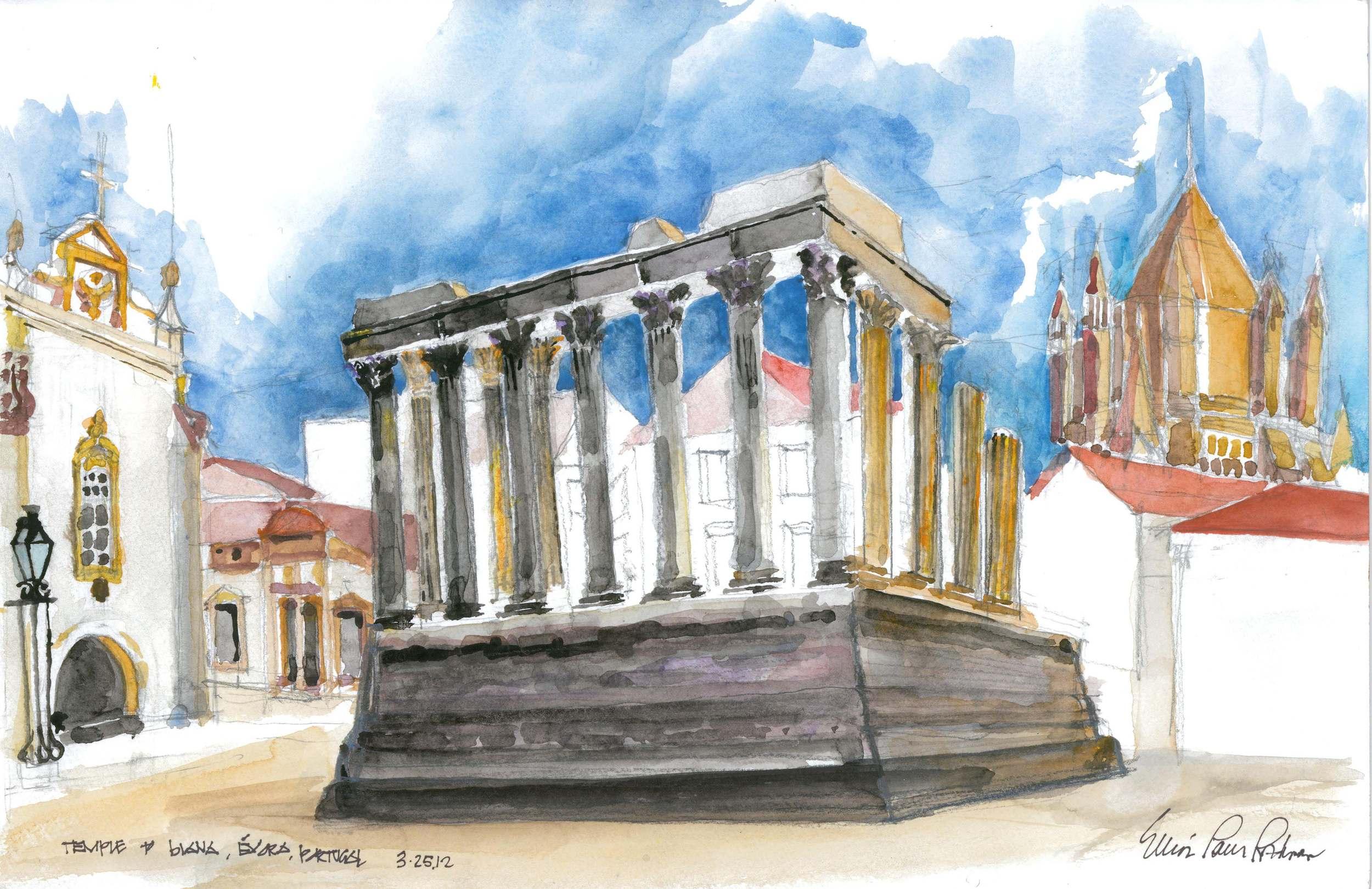 Temple of Diana Evora