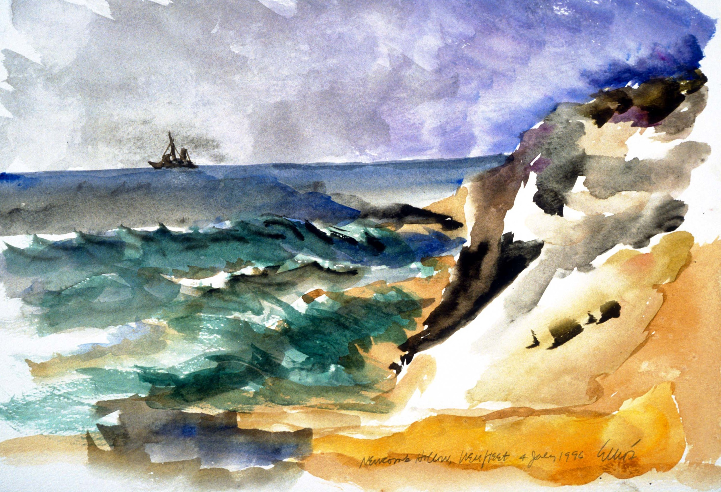 Newcomb Hollow Boat